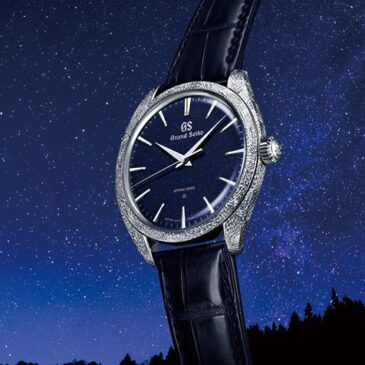 Grand Seiko presents a Spring Drive masterpiece that captures the ever-changing yet eternal nature of the sky at night