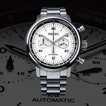 Seiko's sports timing tradition inspires a new Speedtimer series